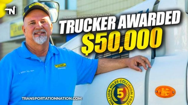 J.B. Hunt Trucker Awarded $50,000