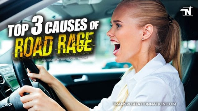 Top 3 Causes of Road Rage