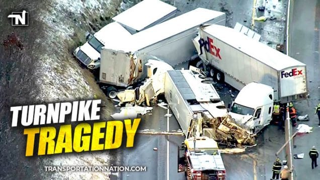 Tragedy on the Pennsylvania Turnpike