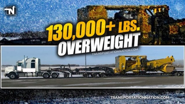 100k lbs overweight in Canada