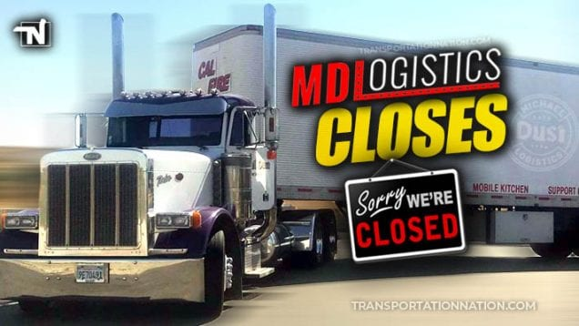 Michael Dusi Trucking CLOSES