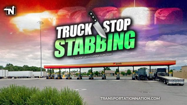 truck stop stabbing at a loves in utah
