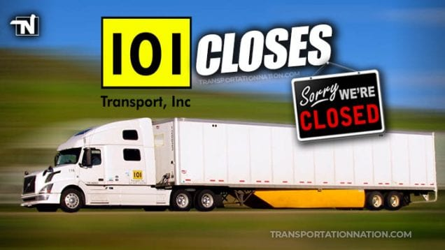 101 Transport Closes