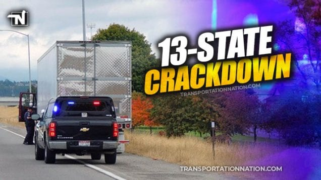 13 state crackdown – Operation Safe Drive