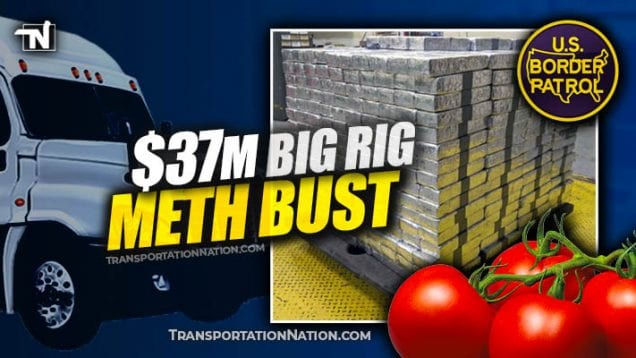 $37M big rig meth bust in laredo