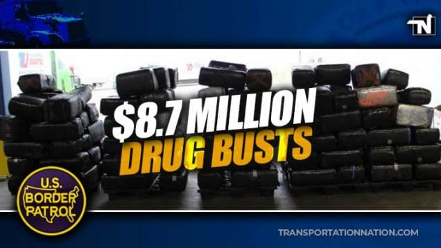 $8.7M big rig drug busts