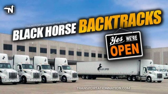 Black Horse Backtracks – WI Terminal to stay open