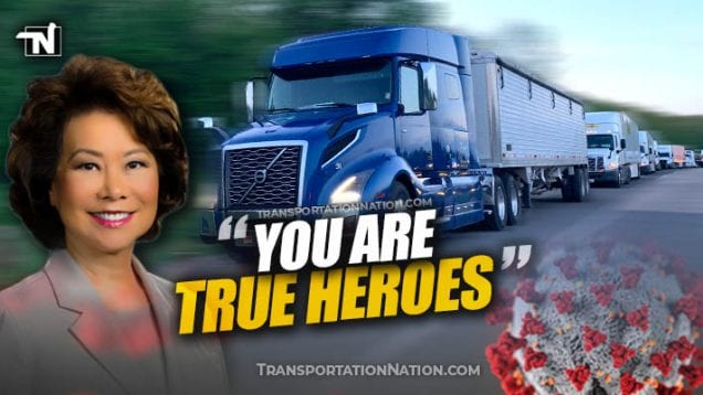 Elaine Chao – You are True Heroes – covid19