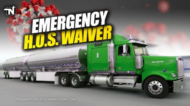 Emergency HOS Waiver COVID19