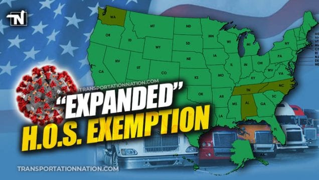 Expanded Emergency Exemption – Coronavirus