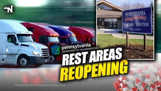PA Rest Areas Reopen 2 – COVID19