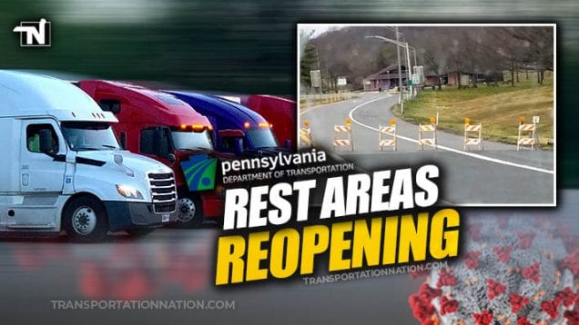PA Rest Areas Reopen – COVID19