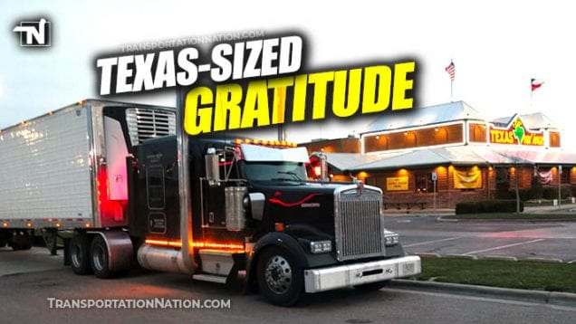 Texas Road House Helps Truckers