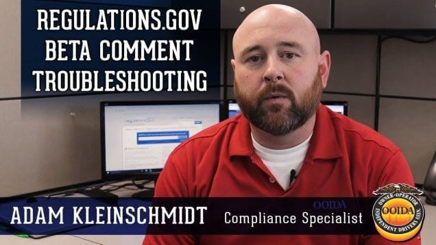 Fight For Your Rights and File Comments Online (Video by OOIDA)