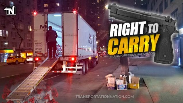 truckers right to carry during covid19