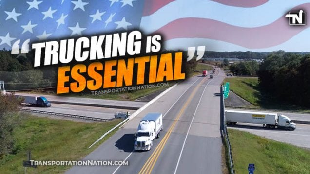 trump administration – trucking is essential