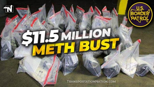 $11.5 million meth bust