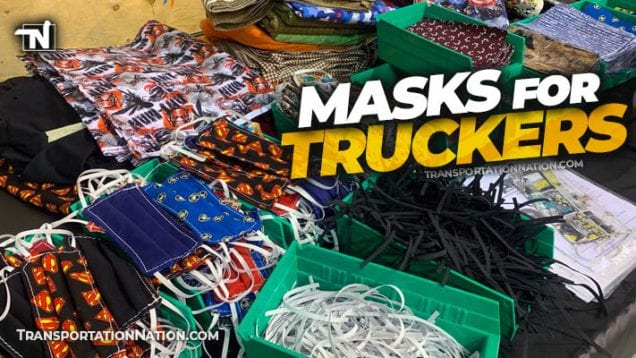 Alyak 2000 makes masks for truckers