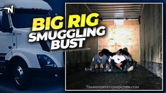 Big Rig Smuggling Bust – April 7 2020