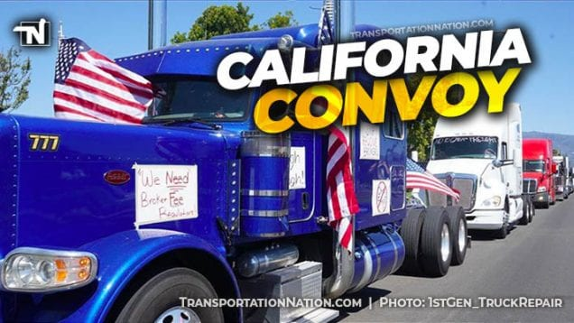 California Convoy – Broker Rates