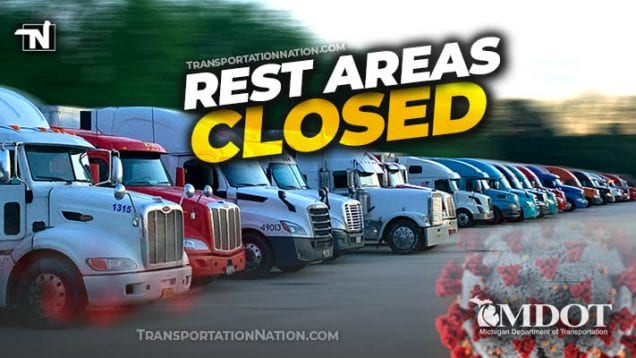 MDOT Rest Areas Closed – April 2020 COVID19