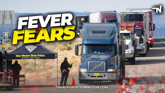 New Mexico Temp Screening for Truckers