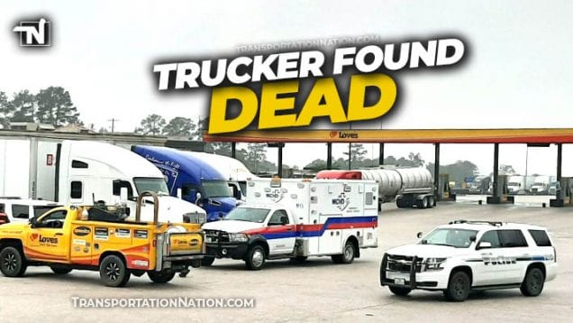 Trucker Found Dead at Love's in Willis TX