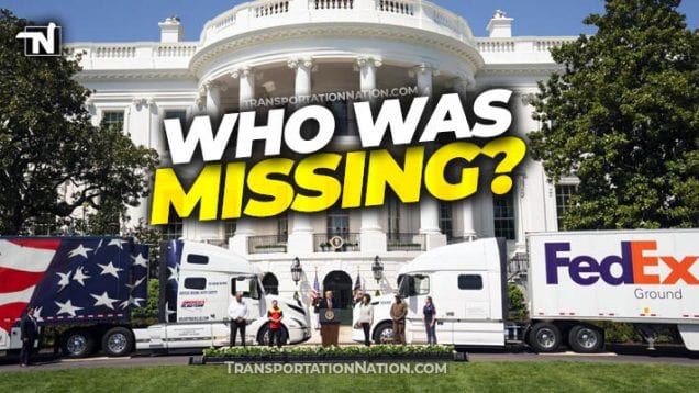 White House Trucker Ceremony on April 16 2020 – who was missing