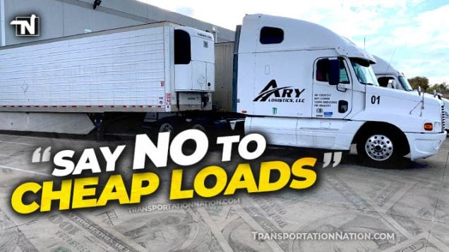 say no to cheap loads petition