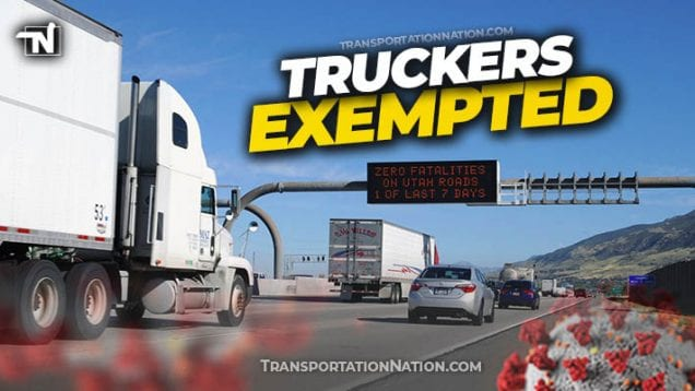truckers exempted utah declaration