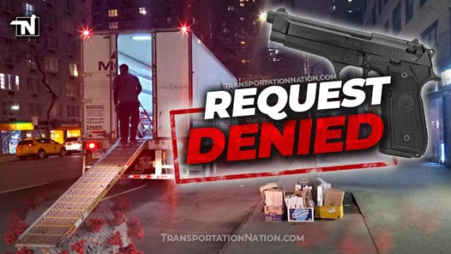 truckers right to carry during covid19 – denied
