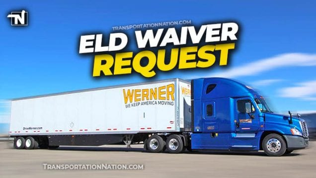werner eld waiver request