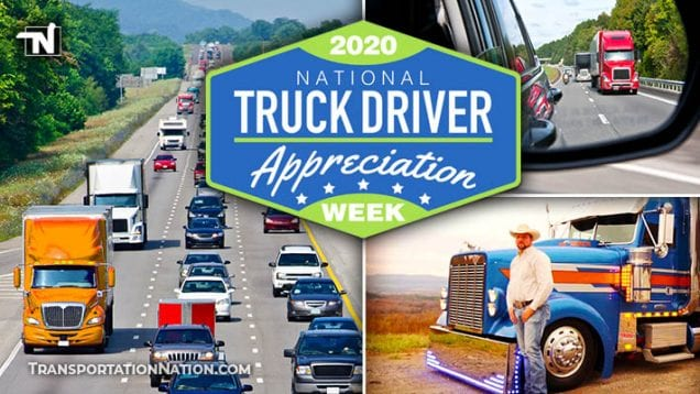 2020 National Truck Driver Appreciation Week