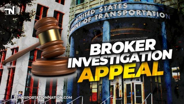 Broker Investigation Appeal
