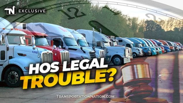 HOS Legal Trouble?