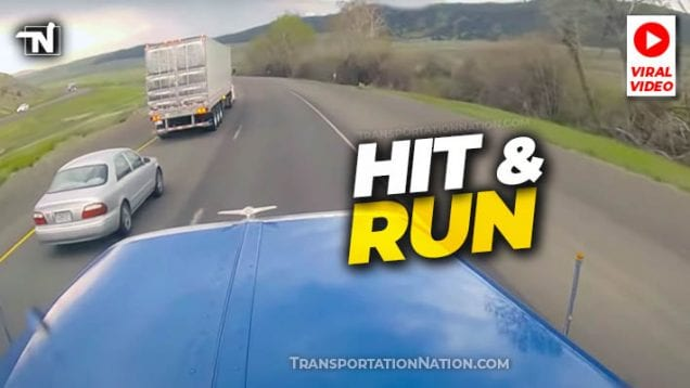Hit and Run Viral Video in Oregon