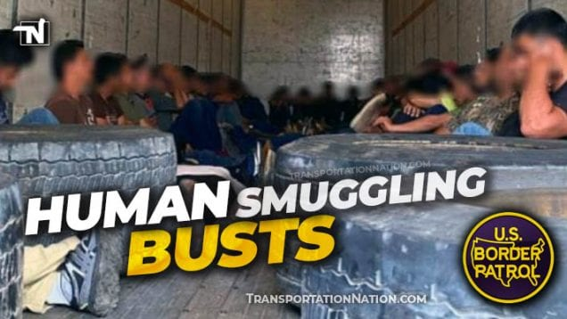 Human Smuggling Busts – TX and CA May 2020