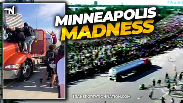 Minneapolis Madenss I-35W NB – George Floyd