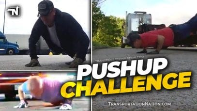 Pushup Challenge for Truckers Final Mile