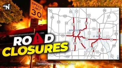 Road Closures in MN – George Floyd Riots