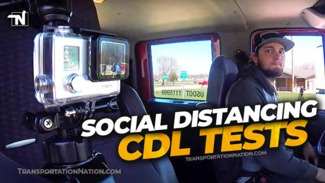 Social Distancing CDL Tests