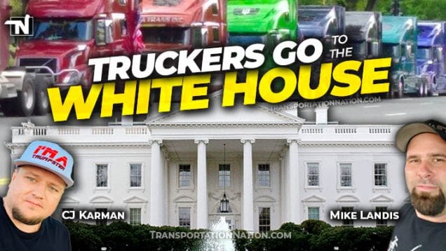 Truckers go to the White House on May 20 2020 x