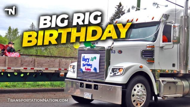semi-birthday parade for Ryley Grin