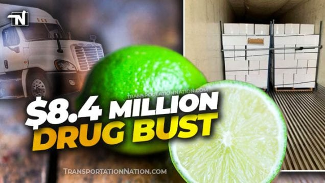 $8.4M drug bust in a load of limes