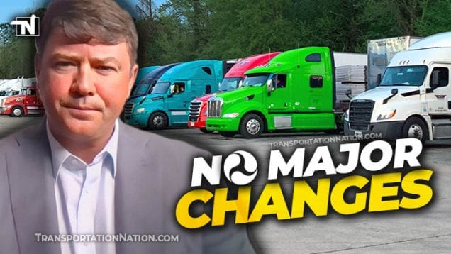 FMCSA's Mullen says No Major Changes