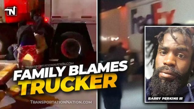 FedEx truck looted in STL – Family Blames Trucker – Barry Perkins III