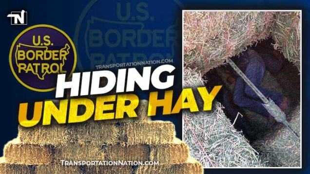 Hiding Under Hay – Human Smuggling Bust