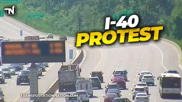 I-40 Protest on 6-24-2020