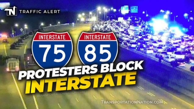 I-75 traffic alert – atlanta – june 13 2020