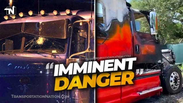 Lawmaker Warns Truckers are in Imminent Danger